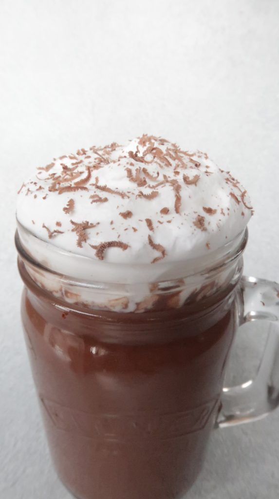 chocolate caliente vegano
